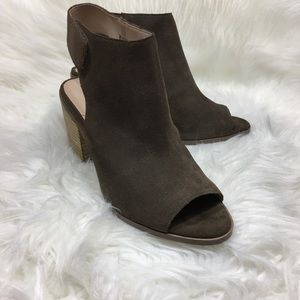 Sole Society Booties Size 7 Jagger Cow Suede A389